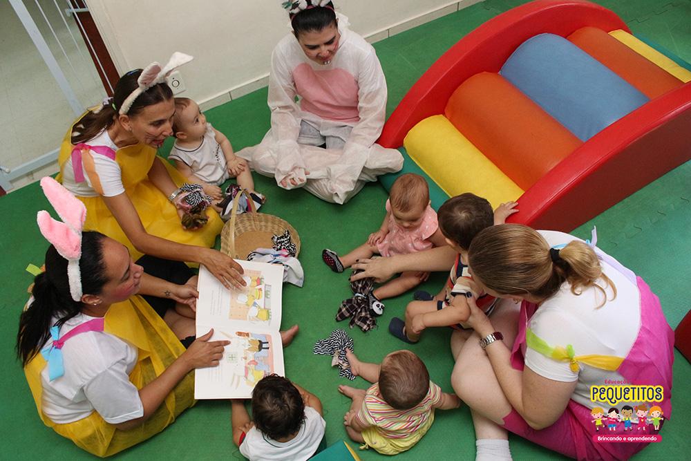 Diferenciais da Pequetitos berçário e escola infantil