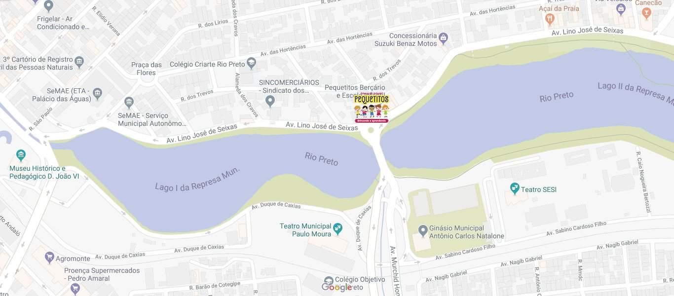 Google Map of Avenida Lino José de Seixas, 633, Jardim dos Seixas, São José do Rio Preto - SP